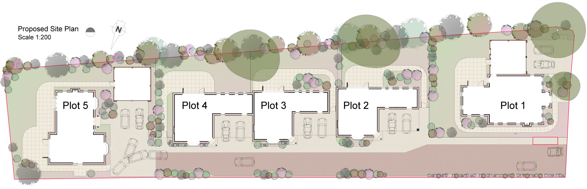 Russon Campbell Developments Athena Way Site Plan