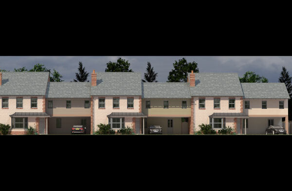 Russon Campbell Developments Athena Way Plots 2, 3, 4 Front
