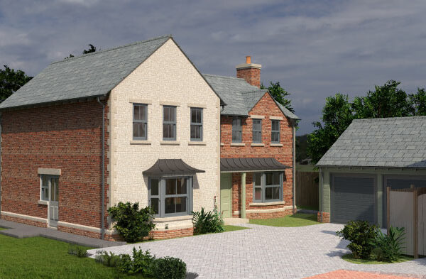 Russon Campbell Developments Athena Way Plot 5 Front