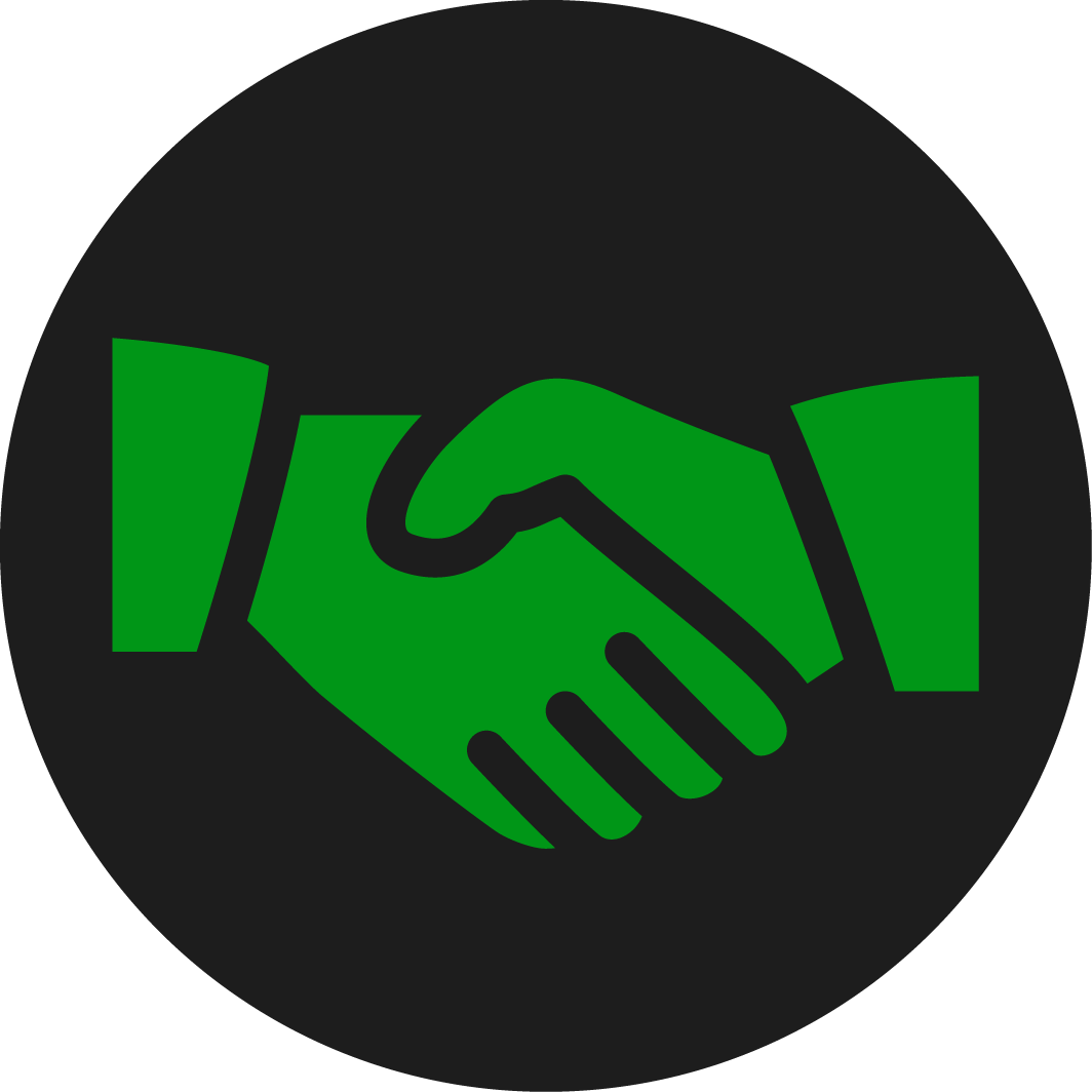 Russon Campbell Developments handshake Logo